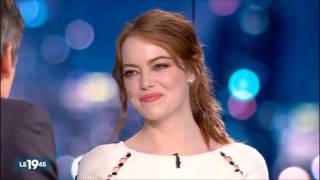 Emma Stone And <b>Ryan Gosling </b> French TV Interview On Jan 10