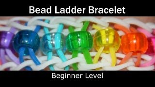Rainbow Loom® Bead Ladder Bracelet