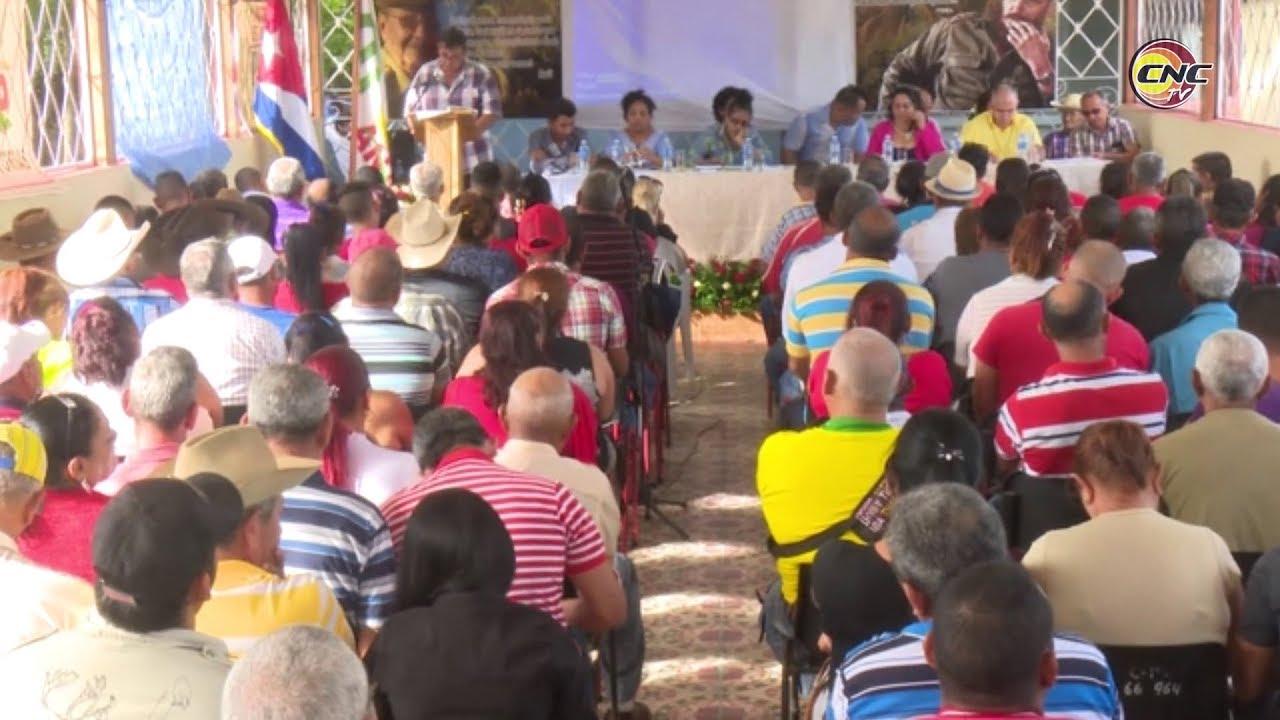 Avanza en la provincia proceso Asambleario duodécimo Congreso de la ANAP