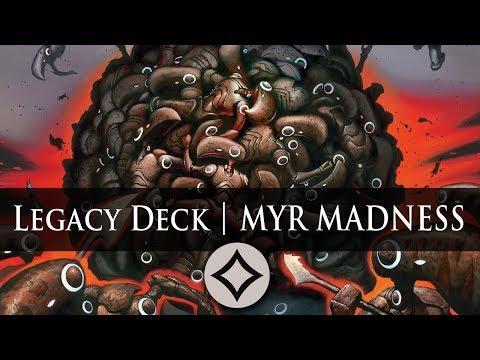 Myr Madness Swarm Deck | Magic The Gathering Deck Build | MTG Legacy