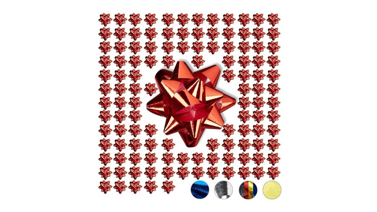 Video von: Kleine Geschenkschleifen 100er-Set
