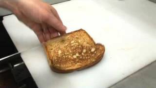 Truffle Grilled Cheese Sandwich using The Chef's Press