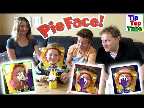 PIE FACE Challenge - Super lustiges Sahne Party Spiel Russian Roulette Deutsch Kinderkanal