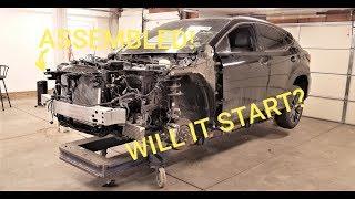 Rebuilding 2017 Lexus RX350 Fsport from Copart prt 10