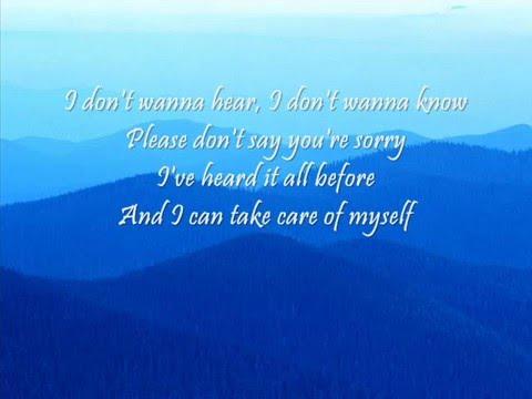 Madonna-Sorry with lyrics