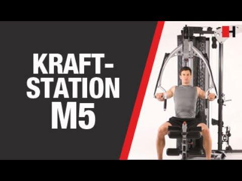 Promovideo: Posilovací věž FINNLO MAXIMUM MULTI-GYM M5
