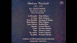 """Ponchielli """"La Gioconda"""" Milanov/Di Stefano/Warren"""
