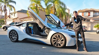 I STOLE HIS BMW i8!