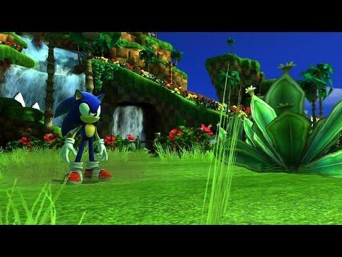 Sonic Generations Green Hill Hub World Mod - Release 1.0