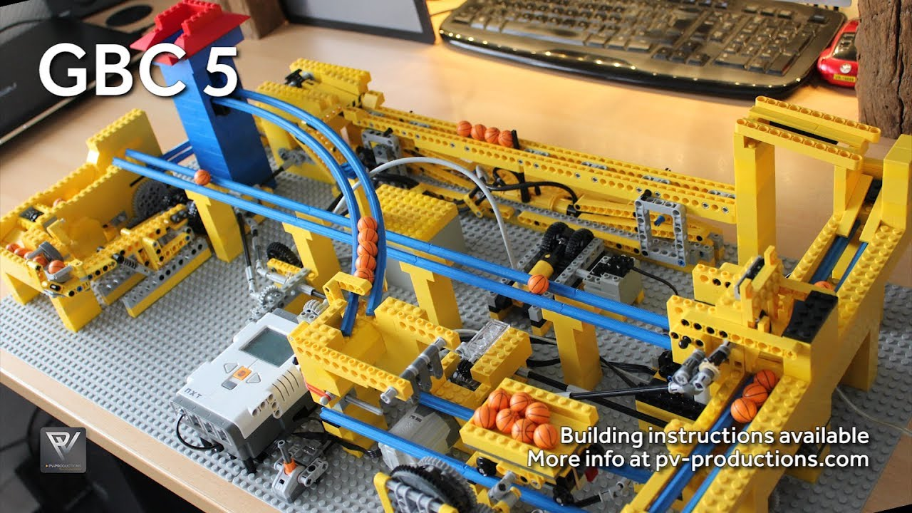 The Most Complicated Way To Make A (Mini, Lego) Free Throw