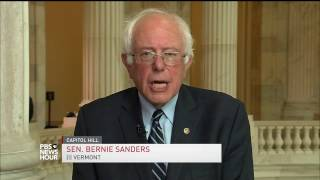 Bernie Sanders on making Democrats a 50-state party