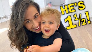 18 MONTH OLD BABY TODDLER UPDATE!