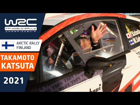 WRC 2021 第2戦のラリーフィンランド 勝田が好調な走りを見せる雪上ラリーのフィンランド(動画)