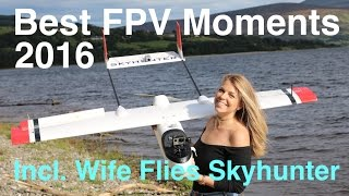 Best FPV Moments 2016 - Skyhunter / Skywalker / Falcon Evo Wing