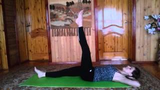 Упражнения для живота Пилатес дома от Ирины Вершин