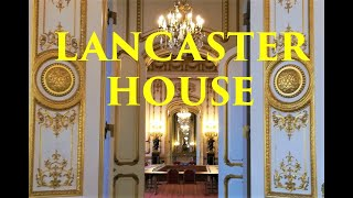 LONDON: Lancaster House - the place where The Crown was filmed! How does it look inside?