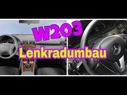 Mercedes-Benz W212 Lenkrad im W203