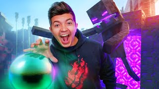 Beating Minecraft in Real Life! - Challenge