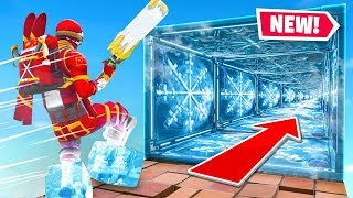 The *MEGA* Ice Trap Escape Run In Fortnite!