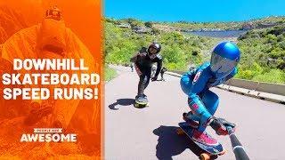 faze tari pe skateboard cu viteza
