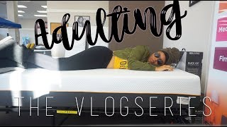 ADULTING: The Vlogseries | Ep. 01 | Mattress Shopping, Apartment Leases & The SS Office