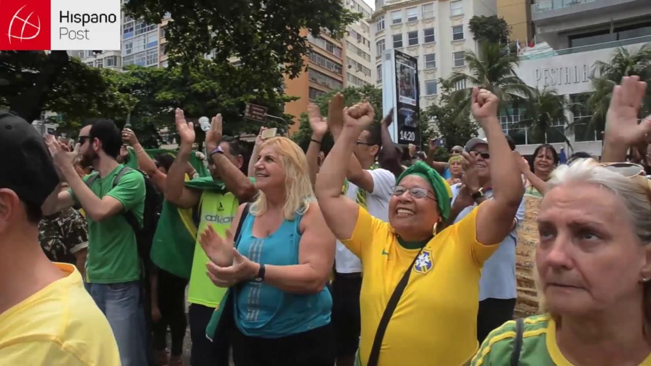 Piden la intervención militar para acabar con la corrupción en Brasil