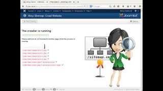 Aimy Sitemap for Joomla! Websites: Part 1 Configuration