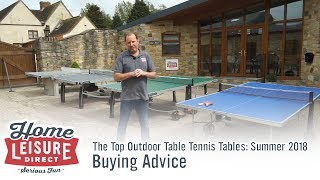 The Best Outdoor Table Tennis Tables 2018: Our Top 4 Pick!