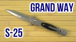Grand Way S-25 - відео 1