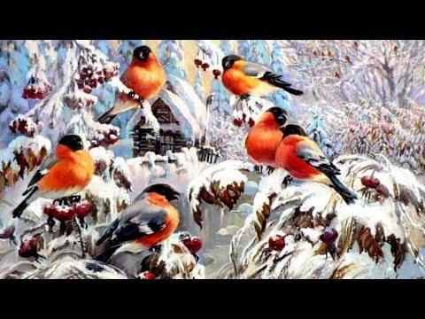 Торжество зимы в картинах художников-живописцев   Живопись пейзажная   HD
