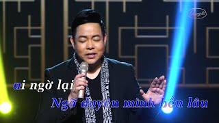 karaoke-buon-lam-chi-em-oi-tone-nam-beat-chuan-quang-le