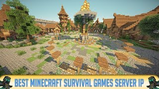 MINECRAFT 1.13 SURVIVAL GAMES & HUNGER GAMES SERVER! (IP in Desc.) 2018