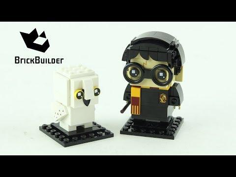 Lego BrickHeadz 41615 Harry Potter & Hedwig - Lego Speed Build