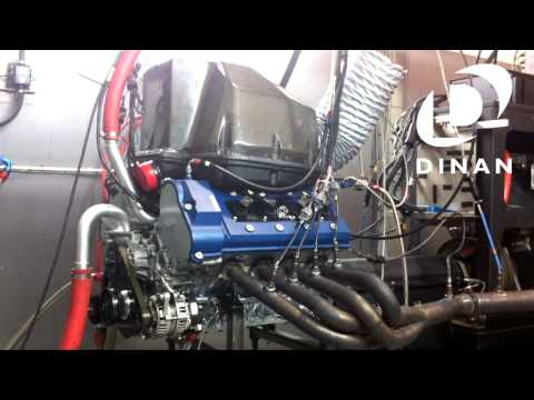 Dinan-Tuned BMW Power Race Engine Dyno Run S62 BMW V8