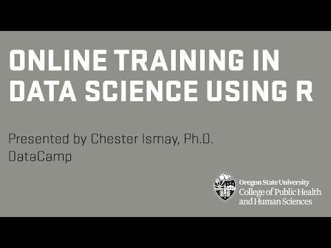 Online Training in Data Science Using R - YouTube