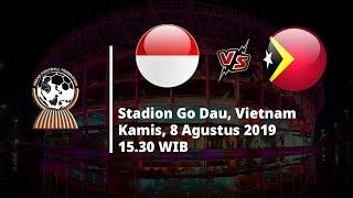 VIDEO: Live Streaming Piala AFF U-18 Indonesia Vs Timor Leste, Kamis (8/8) Pukul 15.30 WIB