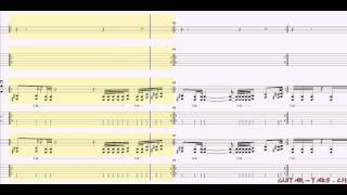 Avenged Sevenfold Tabs - Radiant Eclipse