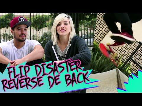 ESCOLA DE SKATE: FLIP DISASTER REVERSE DE BACK | KAREN JONZ
