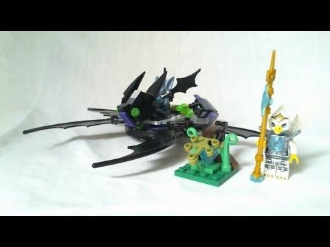 Vidéo LEGO Chima 70128 : Le jet ailé de Braptor