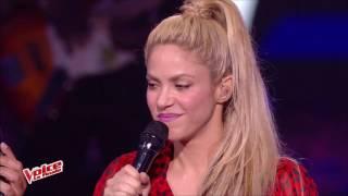 Shakira - Me Enamoré (The Voice France 2017)