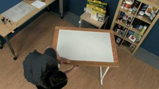 How To Assemble The Gagne Porta-Trace Light Table