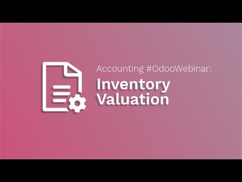 Buchhaltung #odooWebinar: Bestandsbewertung - V12