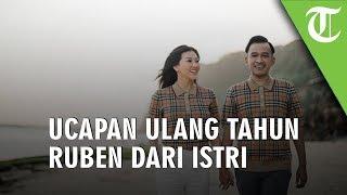 Ucapan Ulang Tahun Romantis dari Sarwendah di Ulang Tahun Ruben Onsu