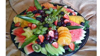 How To Make A Fruit Platter Display