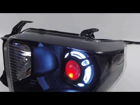 2016 Toyota Tundra - Custom Headlights - Morimoto FXR + Demon Eyes Mp3