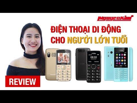Điện thoại cho người lớn tuổi: Món quà ý nghĩa dịp 20/10 - Nguyễn Kim