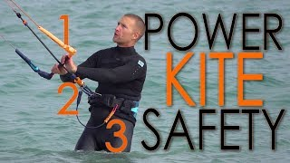 #2 Kiteboarding Beginner – Power kite safety