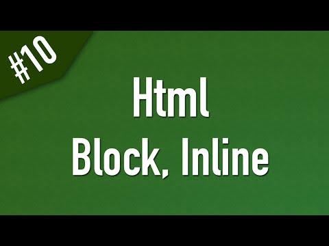 تعلم Html القائمة #1 الفديو #10