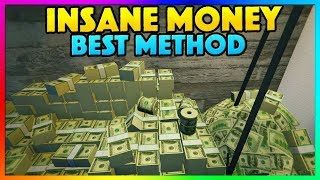 *NEW* BEST GTA 5 ONLINE UNLIMITED MONEY METHOD! - How To Make Money EASY  FAST 1.46! PS4/XB1/PC