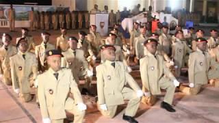 Cérémonie de remise des insignes du Prytanée Militaire de Saint Louis du 22-12-2017